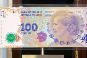 billete de Eva Perón